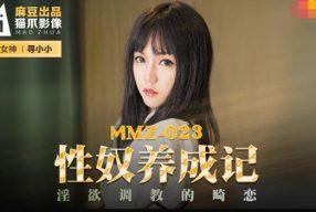 หนังโป๊จีน สาวหมวยโดนลักพาตัวจับมัดไว้ข่มขืนจนเธอติดใจ MMZ-023